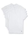 Polo Ralph Lauren Men's Crewneck T-Shirt 4pk for $19 + $6 s&h