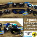 Men's or Women's Polarized Sunglasses 3-Pack for $15 + free shipping