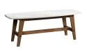 Sauder Harvey Park Faux Marble Coffee Table for $81 + pickup at Walmart