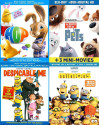Animated Movies on Blu-ray w/ Movie Ticket from $8 + pickup at Best Buy