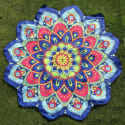 Flower Shape Floral Printed Beach Throw for $5 + free s&h from China