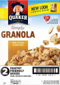 Quaker Simply Granola 28-oz. Cereal 2-Pack for $7 + free shipping