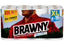 2 Brawny XL Pick-A-Size Paper Towels 8-Packs for $18 + free shipping
