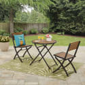 Mainstays Folding 3pc Bistro Set for $62 + free shipping