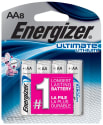 Energizer Ultimate Lithium AA Batteries 8pk for $9 + free shipping