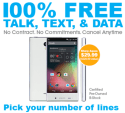 100% Free Service Refurb Sharp Aquos Phone for $30 + free shipping