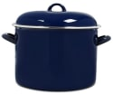 Victoria 10-Quart Enamel-Coated Stockpot for $16 + free s&h w/beauty item
