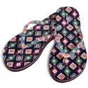 Vera Bradley Women's Flip Flops (size M) for $8 + free shipping