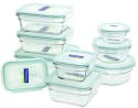 Glasslock 18-Piece Glass Storage Set for $26 + free shipping w/ Prime
