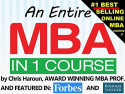 Entire MBA in 1 Course for $10