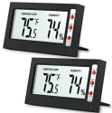 AMIR Indoor Digital Thermometer 2pk for $9 + free shipping w/Prime