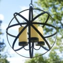 """Garden Oasis 16"""" Candle Sphere Chandelier for $13 + pickup at Sears"""