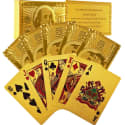 Trademark Poker 24K Gold Foil Playing Cards for $5 w/ $25 purchase + free shipping