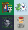 BustedTees Coupon: 60% off + free shipping w/ $80