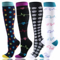 HLTPRO Unisex Graduated Compression Socks: 30% off, from $6 + free shipping w/ Prime