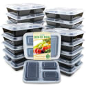 20 Enther Meal Prep Containers for $17 + free shipping w/ Prime