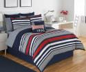 IZOD Varsity Stripe Comforter Set from $33 + free shipping