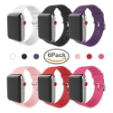 Miterv Apple Watch Replacement Band 6-Pack for $11 + free shipping w/ Prime