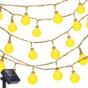 Oak Leaf 13-Foot 30-LED Solar Light Strand for $5 + free shipping w/ Prime