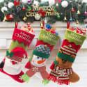 """3 20"""" Christmas Stockings for $13 + free shipping"""