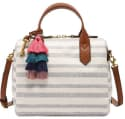 Fossil Fiona Small Fabric Printed Satchel for $77 + free shipping