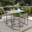 Garden Oasis Wallace 5-Piece High Dining Set for $180 + pickup at Sears
