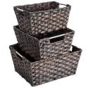 MaidMax Woven Basket 3-Pack for $16 + free shipping w/ Prime