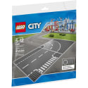 LEGO City Town T-Junction / Curve Plate Set for $12 + pickup at Walmart