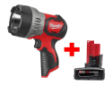 Milwaukee 12V LED Spot Light w/ Battery for $69 + free shipping
