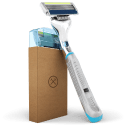 Dollar Shave Club Razor w/ 4 Cartridges for $1 for 1st month + free shipping