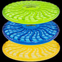 Nightdisk LED Frisbees 3-Pack for $19 + free shipping