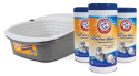Arm & Hammer Sifting Litter Pan w/ 90 Wipes for $20 + free shipping
