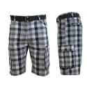 Galaxy by Harvic Men's Plaid Cargo Shorts for $17 + free shipping