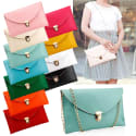 Women's PU Leather Shoulder Bag for $5 + free shipping