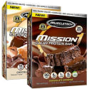 Muscletech Mission 1 Bar 48-Pack for $30 + $6 s&h