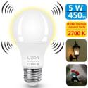 Luxon 5W Motion Sensor Light Bulb for $7 + free shipping w/ Prime