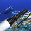 1,200-Lumen CREE Scuba Flashlight Torch for $17 + free shipping w/Prime