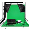 Craphy 125W 5500K Photo Studio Lighting Kit for $76 + free shipping