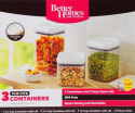 Better Homes and Gardens 3pc Storage Set for $13 + pickup at Walmart
