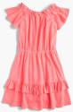J. Crew Girls' 2-Way Ruffle Dress for $16 + free shipping