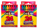 2 Cra-Z-Art School Quality Crayons 24-Packs for 50 cents + pickup at Walmart