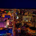 Las Vegas Night Helicopter Flight for $57