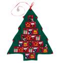 Christmas Tree Felt Advent Calendar for $10 + free shipping