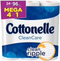Cottonelle Clean Care Toilet Paper 24-Pack for $18 + free shipping