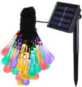 Amir 30-LED Solar-Powered String Lights for $8 + free shipping w/ Prime
