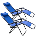 Tahoe Gear Zero Gravity Lounge Chair 2-Pack for $44 + free shipping