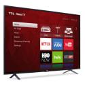 "Refurb TCL 55"" 4K HDR LED UHD Roku Smart TV for $247 + pickup at Walmart"