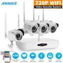 Annke 4-Camera WiFi Surveillance System for $120 + free shipping