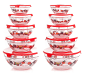 Chef Buddy 20-Piece Glass Bowl Set for $14 + pickup at Walmart