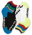 10 Pairs of Head Men's Moisture-Wicking Socks for $11 + free shipping